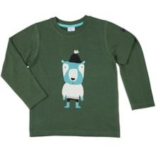 Polarn O. Pyret Kids Woodland Animal Motif Top