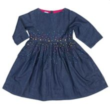 Polarn O. Pyret Girls Denim Dress