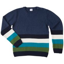 Polarn O. Pyret Kids Multi Striped Jumper