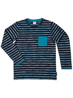 Kids Striped Long Sleeved Top