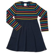 Polarn O. Pyret Girls Merino Wool Dress