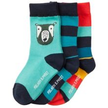 Polarn O. Pyret Babies Colourful Bear Socks