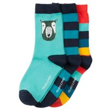 Polarn O. Pyret Kids Colourful Bear Socks