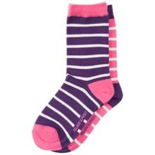 Polarn O. Pyret Girls Striped Socks