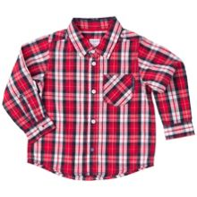 Polarn O. Pyret Baby Boys Checked Shirt