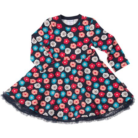 Polarn O. Pyret Baby Girls Flower Dress