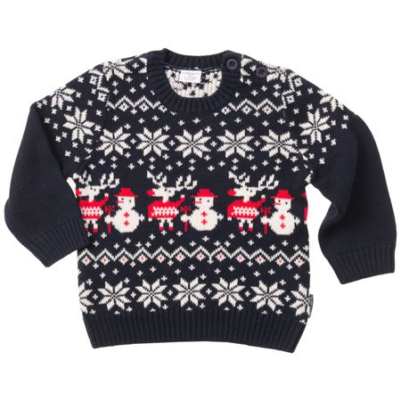 Polarn O. Pyret Baby Christmas Jumper