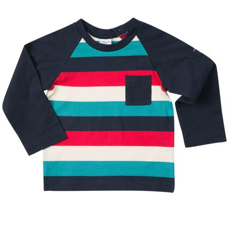 Polarn O. Pyret Babies Block Stripe Top