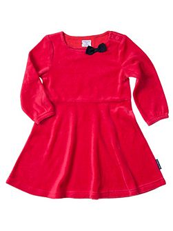 Baby Girls Velour Party Dress