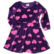 Polarn O. Pyret Baby Girls Velour Party Dress