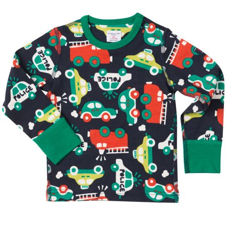 Polarn O. Pyret Babies Vehicle Print Top