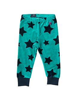 Babies Star Velour Trousers