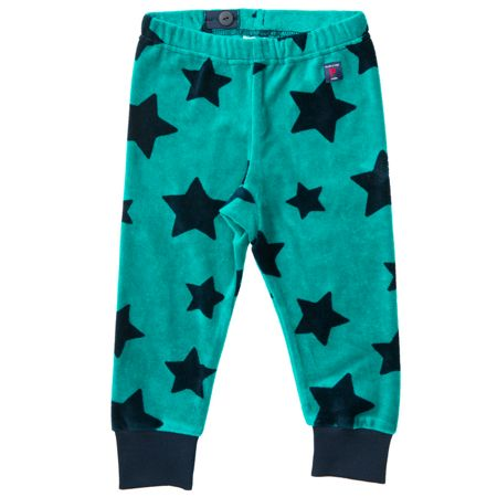 Polarn O. Pyret Babies Star Velour Trousers