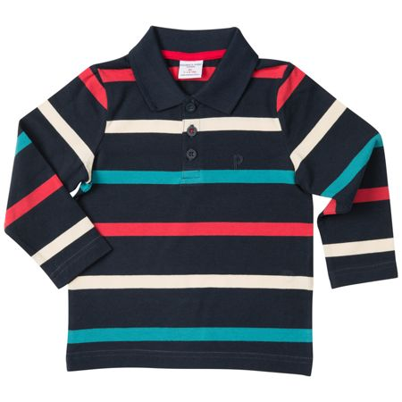 Polarn O. Pyret Baby Boys Rugby Top