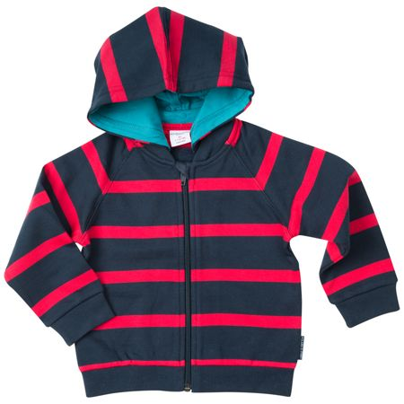 Polarn O. Pyret Babies Cosy Striped Hoodie
