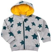 Polarn O. Pyret Babies Cosy Star Print Hoodie
