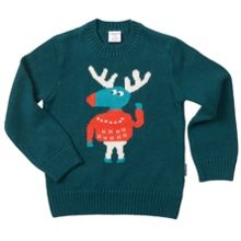 Polarn O. Pyret Kids Moose Jumper