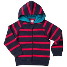 Polarn O. Pyret Kids Cosy Striped Hoodie