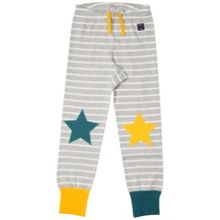 Polarn O. Pyret Kids Stars and Striped Leggings
