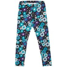 Polarn O. Pyret Girls Bold Floral Leggings