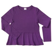 Polarn O. Pyret Girls Peplum Top