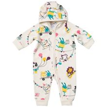 Polarn O. Pyret Babies Party Animal Overall with Hood
