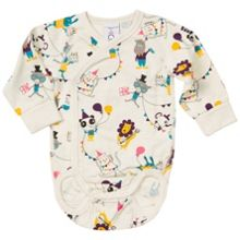 Polarn O. Pyret Babies Animal Party Bodysuit