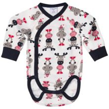 Polarn O. Pyret Babies Animal Bodysuit