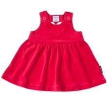 Polarn O. Pyret Baby Girls Velour Dress