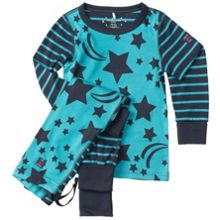 Polarn O. Pyret Kids Star Print Pyjamas