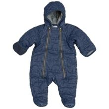 Polarn O. Pyret Babies Quilted Denim Overall