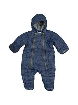 Babies Quilted Denim Overall