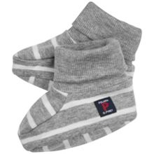 Polarn O. Pyret Babies Striped Booties