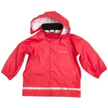 Polarn O. Pyret Kids Red Raincoat