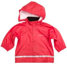 Polarn O. Pyret Babies Red Raincoat