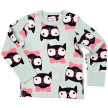 Polarn O. Pyret Babies Cat Print Top