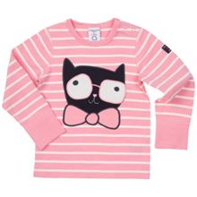 Polarn O. Pyret Babies Organic Cotton Striped Top