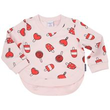 Polarn O. Pyret Baby Girls Print Sweatshirt Top