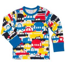 Polarn O. Pyret Baby Boys Car Print Top