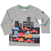 Polarn O. Pyret Babies City Print Top