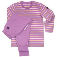 Polarn O. Pyret Girls Striped Pyjamas