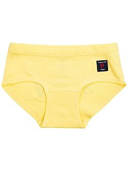 Girls Plain Briefs