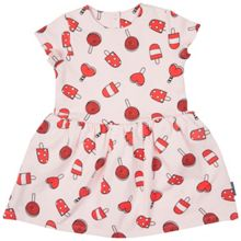 Polarn O. Pyret Girls Lollipop Sweatshirt Dress