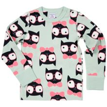 Polarn O. Pyret Kids Cat Print Top