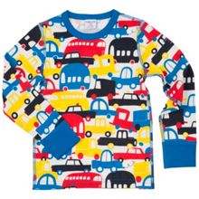 Polarn O. Pyret Boys Car Print Top