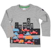 Polarn O. Pyret Kids City Print Top