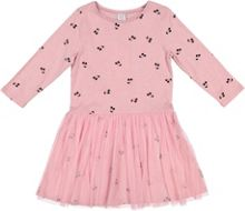 Polarn O. Pyret Girls Cherry Print dress