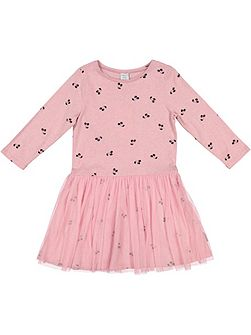 Girls Cherry Print dress