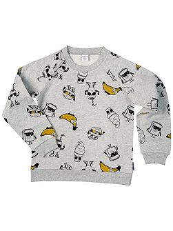Kids Cartoon Sweatshirt