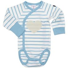 Polarn O. Pyret Babies Striped Print Bodysuit